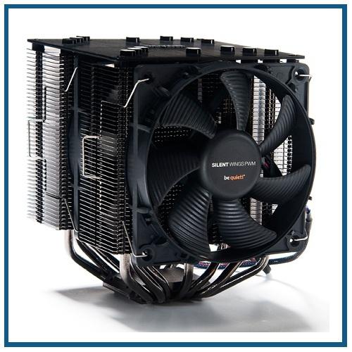 Einbau eines Profi Silent CPU Kühler be quiet! Dark Rock 4 macht Ihren PC noch leiser!