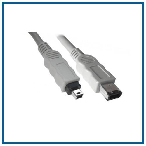 Firewire Kabel, (IEEE 1394), 6-4 pol., 1,0 m