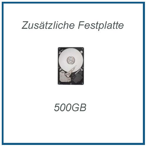 Zusätzliche Festplatte Seagate 500GB 7200rpm, inkl. Einbau und Sata3 Kabel